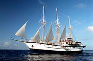 Galapagos cruise onboard 3 masted M/S Sagitta