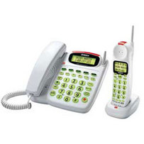 Audible Caller ID  Phone with Flashing Ringer