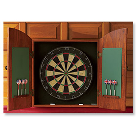 World's Finest Tournament Dartboard