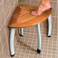 Teak Shower Seat - Home & Garden